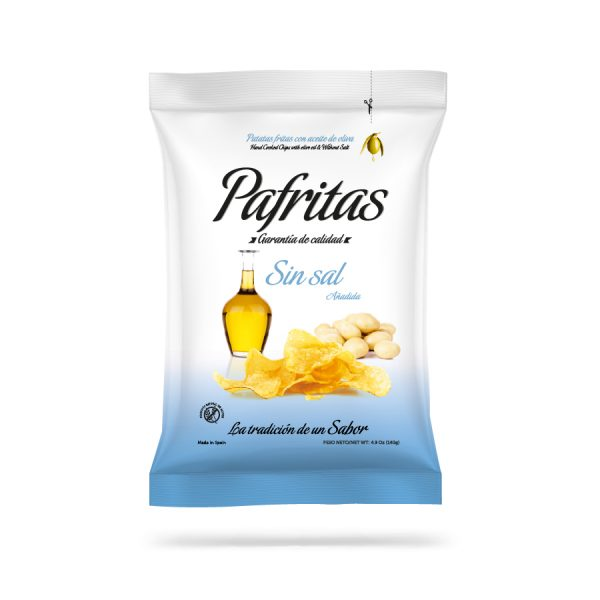 Bolsa Pafritas sin sal