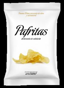 Mockup bolsa Pafritas gourmet 140 gr