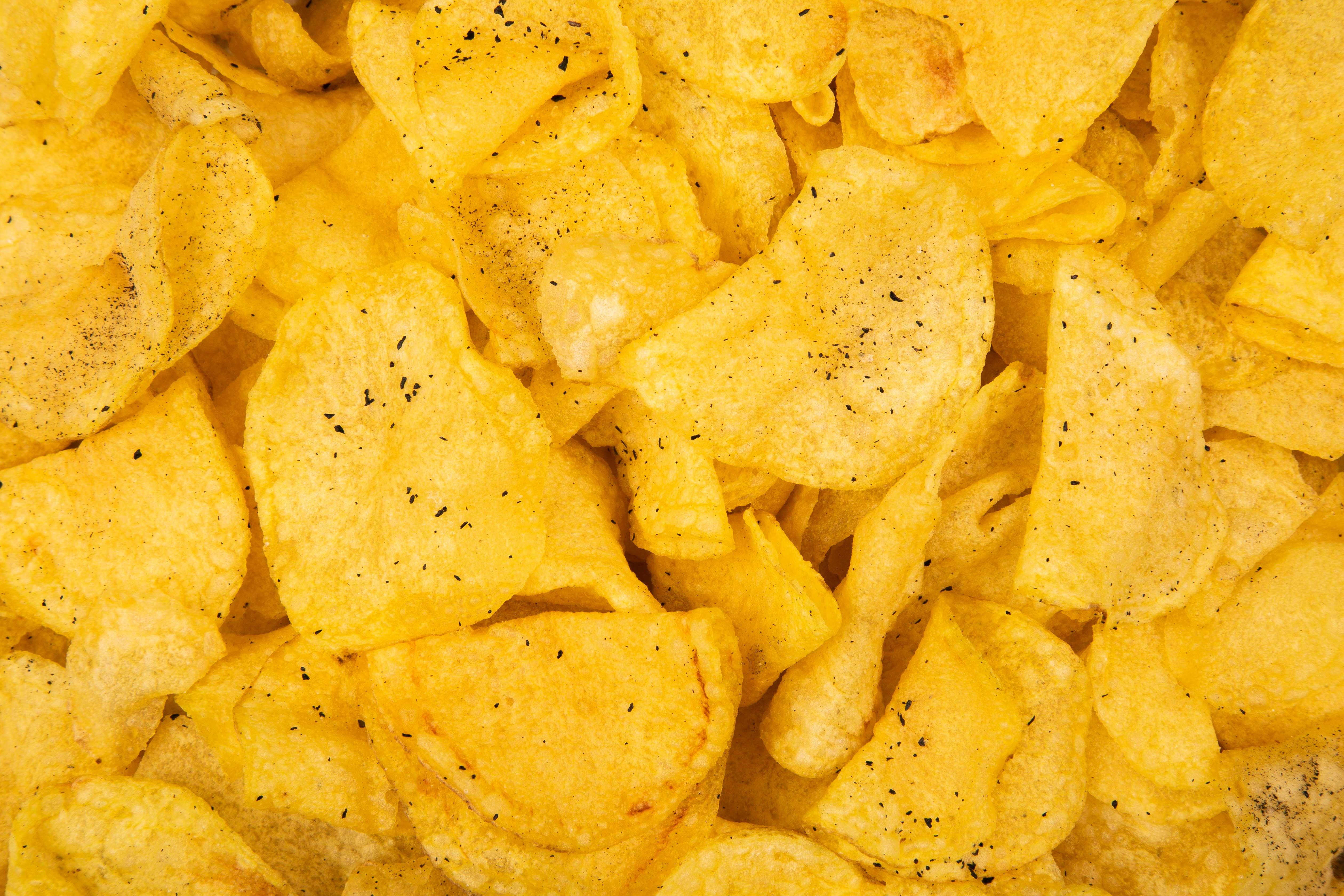 Pattern patatas trufa negra